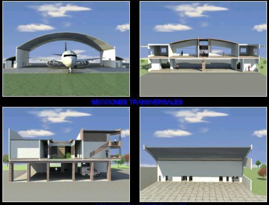 imagen Estacion de bomberos, en Aeropuertos - Proyectos