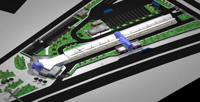 Planos de Estacion de buses, en Medios de transporte – Proyectos