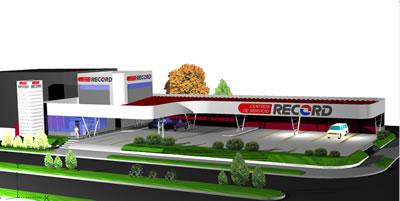 Planos de Estación de servicio – modelo 3d, en Estaciones de servicio – Proyectos
