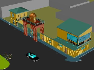 Planos de Estacion de tren, en Medios de transporte – Proyectos