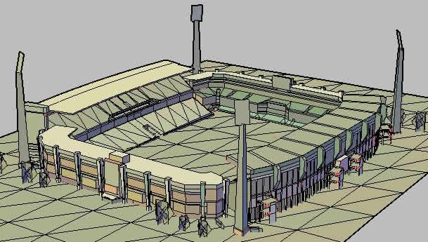 Planos de Estadio loftus versfeld, en Proyectos estadios – Deportes y recreación