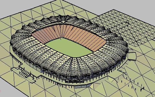 imagen Estadio nelson mandela, en Proyectos estadios - Deportes y recreación
