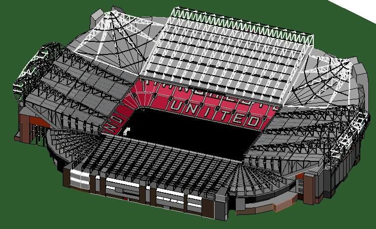 imagen Estadio old trafford, en Proyectos estadios - Deportes y recreación