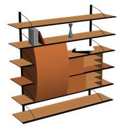Estanteria 3d, en Estanterías y modulares – Muebles equipamiento