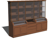 Planos de Estanteria comercial, en Estanterías y modulares – Muebles equipamiento