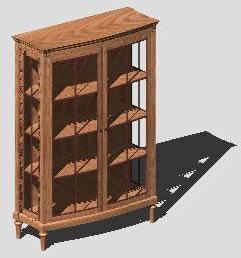 Planos de Estanteria de sala 3d, en Estanterías y modulares – Muebles equipamiento