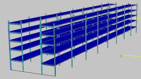 imagen Estantes para container, en Estanterías y modulares - Muebles equipamiento