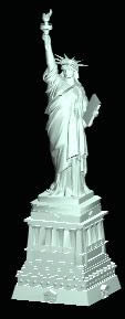 imagen Estatua de la libertad, en Obras famosas - Proyectos