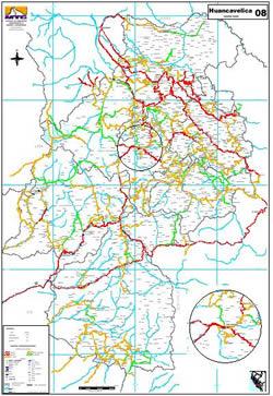 Planos de Estructura vial – perú