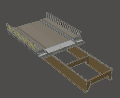 imagen Estructuras de materiales compuestos puente, en Puentes - Obras viales - diques