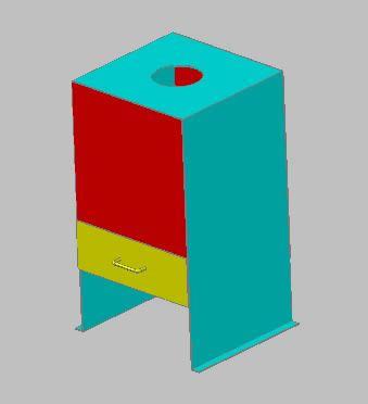 Planos de Estufa3d, en Estufas de fuego abierto – hogares – Climatización