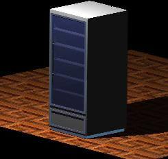 imagen Expositor de frio _ 3d, en Supermercados y tiendas - Muebles equipamiento