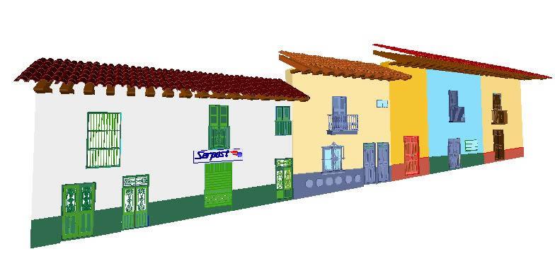 imagen Fachadas 3d, en Comercios varios - Proyectos