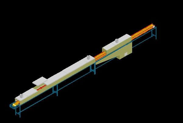 Planos de Faja transportadora 3d, en Maquinaria para industria de la alimentación – Máquinas instalaciones