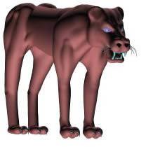 Felino 3d, en Animales 3d – Animales