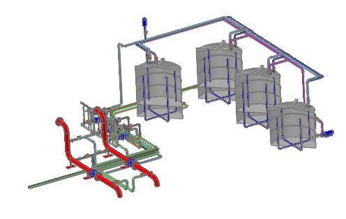 Planos de Fertirrigardor para proyecto de riego, en Instalaciones de riego – Granjas e inst. agropecuarias