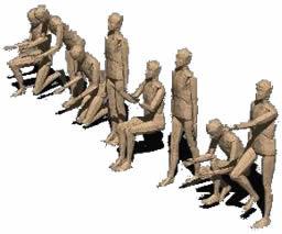 Planos de Figura humana 3d, en 3d – Personas