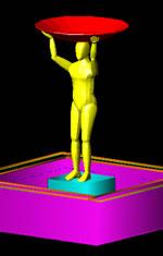 Planos de Figura humana, en 3d – Personas