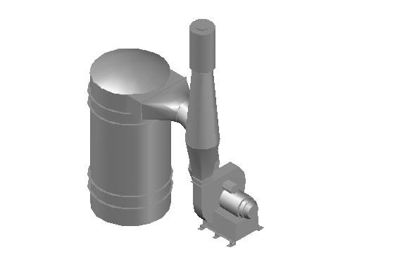 Planos de Filtro y extractor de aire, en Maquinaria e instalaciones industriales – Máquinas instalaciones