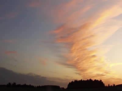 imagen Fondo cielo, en Cielos - Objetos paisajísticos