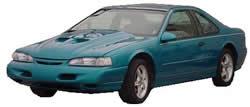 imagen Ford thunderbird, en Automóviles - fotografías para renders - Medios de transporte