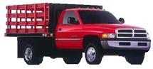 Fotografia de camion 2002 dodge truck ram chassis cab 4×2 2500 hd st con  mapa de opacidad, en Automóviles – fotografías para renders – Medios de transporte