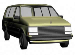 imagen Furgoneta 3d, en Utilitarios - Medios de transporte