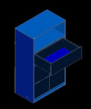 Planos de Gabinete para cocina 3d, en Estanterías y modulares – Muebles equipamiento