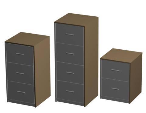 Gabinetes 3d, en Estanterías y modulares – Muebles equipamiento