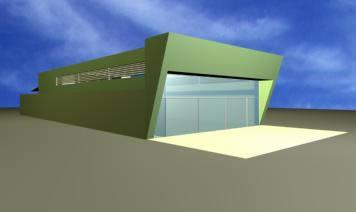 Galpon 3d, en Galpones – Proyectos