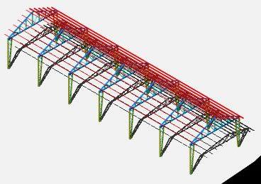 Planos de Galpon 3d, en Galpones – Proyectos