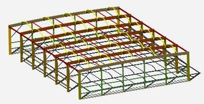 Planos de Galpon madera 3d, en Galpones – Proyectos