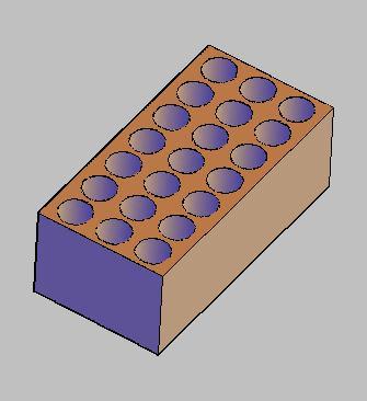 Planos de Gero 3d – ladrillo prefabricado, en Muros de ladrillos – Detalles constructivos
