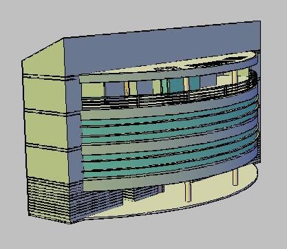 Planos de Gimnasio 3d, en Proyectos gimnasios – Deportes y recreación