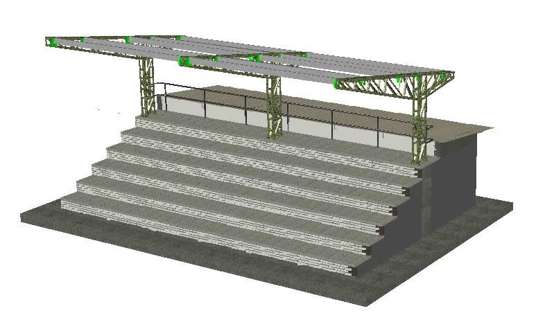 Planos de Graderia, en Proyectos estadios – Deportes y recreación