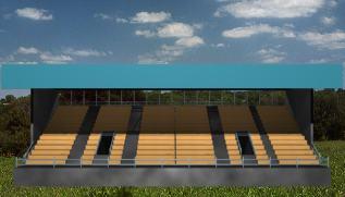 Graderio, en Proyectos estadios – Deportes y recreación