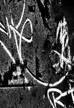 imagen Graffitti en opacidad, en Cuadros - Texturas
