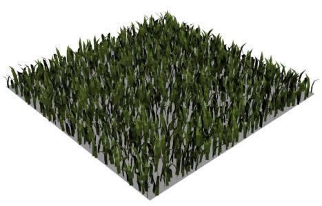 imagen Grama en bloque 3ds, en Follajes y vegetales - Texturas