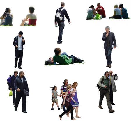 imagen Gran coleccion de imagenes de personas por fotoshop, en Fotografías para renders - Personas