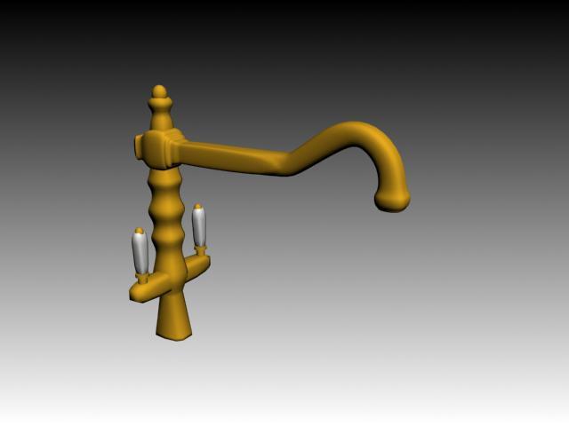 imagen Griferia 3d, en Artefactos - Sanitarios