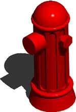 Planos de Grifo contra incendios 3d, en Instalaciones contra incendios – Infraestructura