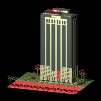Planos de Guayaquil bankers building 3d, en Oficinas bancos y administración – Proyectos