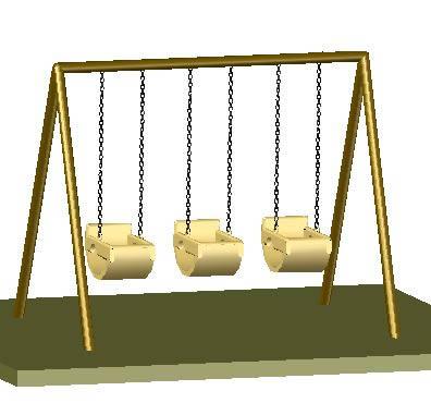 Planos de Hamaca 3d, en Juegos – Muebles equipamiento
