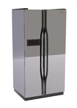 Heladera 3d, en Electrodomésticos – Muebles equipamiento