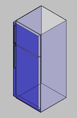 Planos de Heladera 3d, en Electrodomésticos – Muebles equipamiento