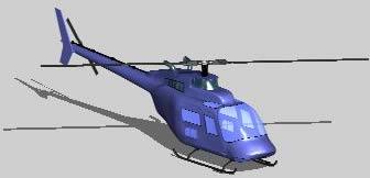 Planos de Helicóptero 3d, en Aeronaves en 3d – Medios de transporte