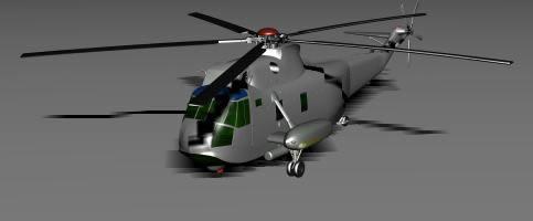 Helicoptero 3d, en Aeronaves en 3d – Medios de transporte