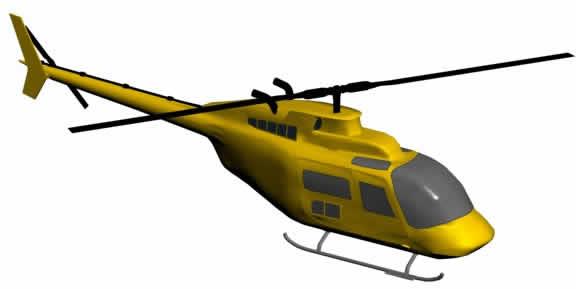 Planos de Helicoptero 3d, en Aeronaves en 3d – Medios de transporte