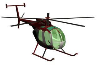 Helicoptero en 3d modelo 500d, en Aeronaves en 3d – Medios de transporte