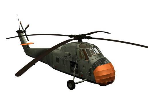 Helicoptero, en Aeronaves en 3d – Medios de transporte